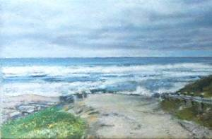 Ocean Path landscape
