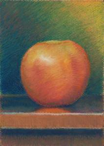 Study of an Apple-5x7
